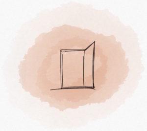 Une porte qui s'ouvre, c'est une occasion de changer ses habitudes, d'essayer du nouveau, d'accueillir les opportunités.