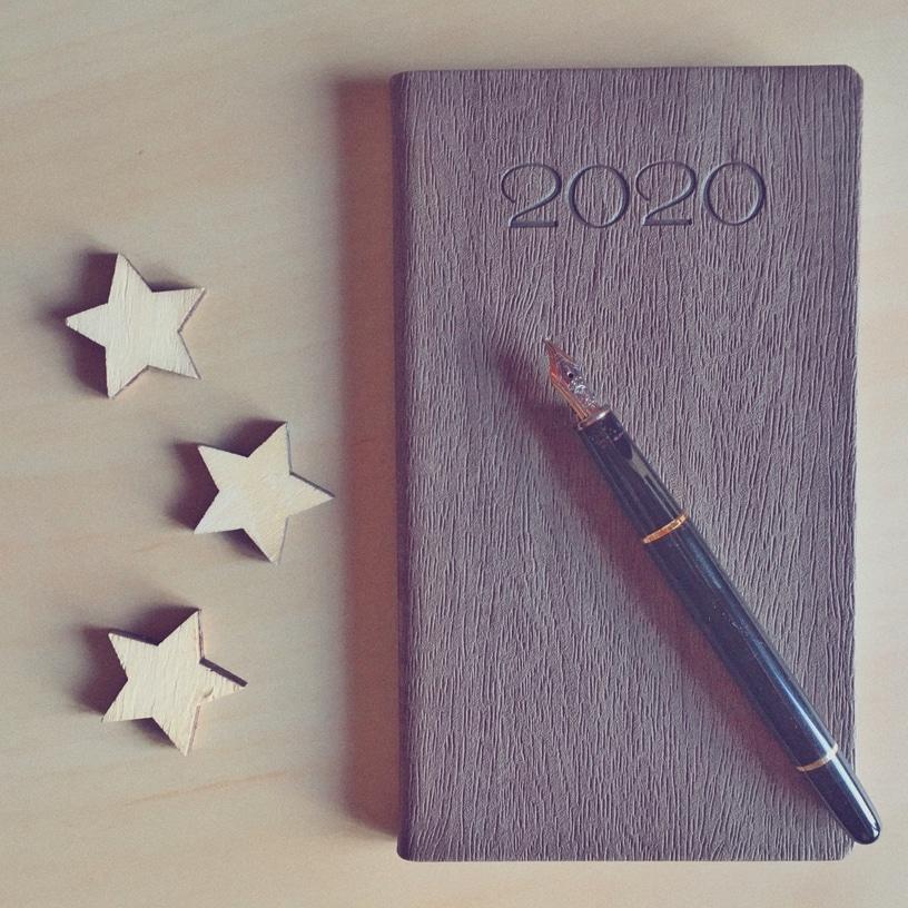 Préparer ses objectifs de début d'année (2020).