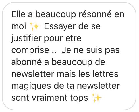 Newsletter, merci